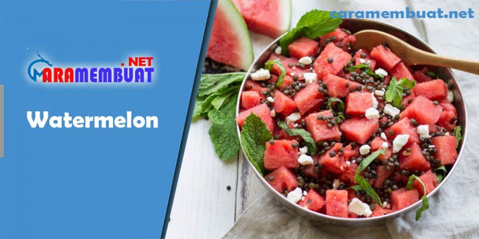 Cara Membuat Watermelon