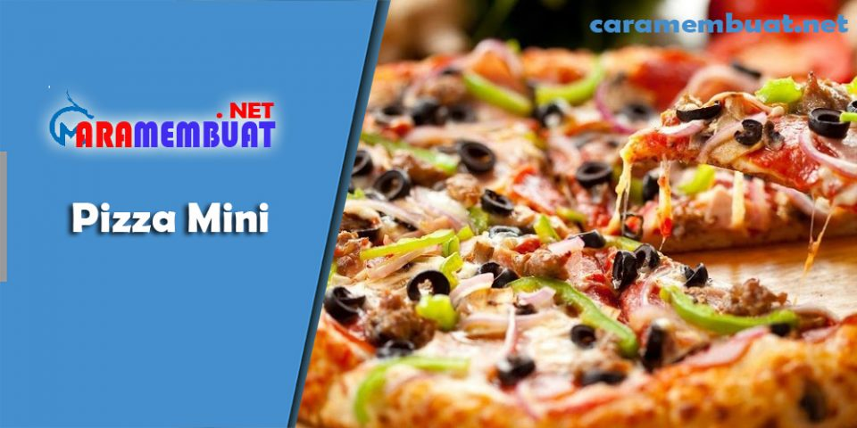 Cara Membuat Pizza Mini