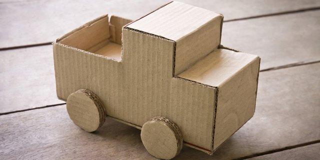 Cara Membuat Mobil-Mobilan dari Kardus