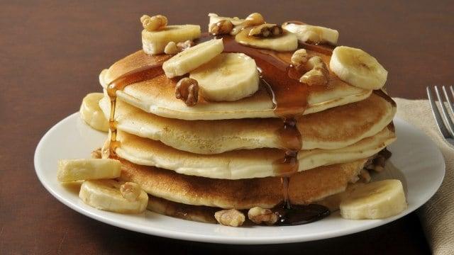Cara Membuat Banana Pancake